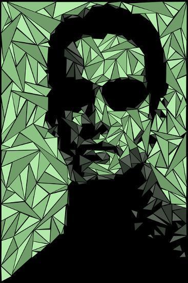 Neo Matrix-Cristian Mielu-Premium Giclee Print