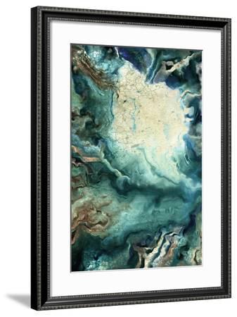 Neo Teal 1-Kimberly Allen-Framed Art Print