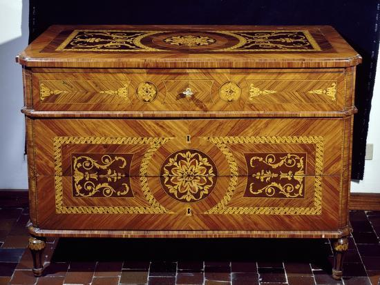 Neoclassical Style Chest, Giuseppe Maggiolini Style, Italy--Giclee Print
