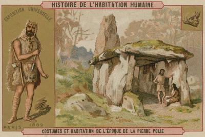 Neolithic Costumes and Dwellings--Giclee Print