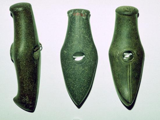 Neolithic stone axes. Artist: Unknown-Unknown-Giclee Print