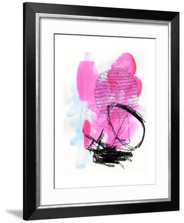 Neon Flamingos II-Jennifer Paxton Parker-Framed Art Print