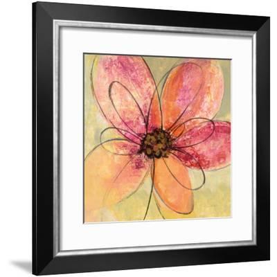 Neon Floral III-Silvia Vassileva-Framed Art Print