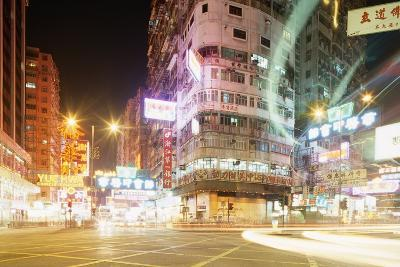 Neon Signs of Tsim Sha Tsui-Paul Souders-Photographic Print