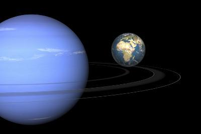 Neptune And Earth, Artwork-Walter Myers-Photographic Print