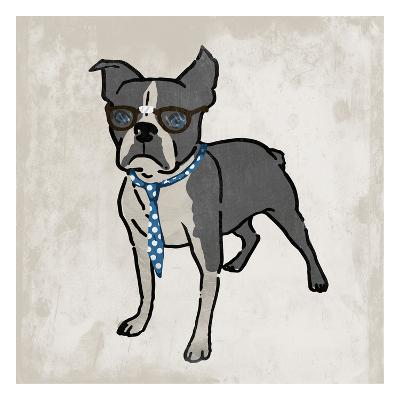 Nerdy Terrier 2-Marcus Prime-Art Print