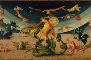 Saint Michael and the Dragon by Neri Di Bicci