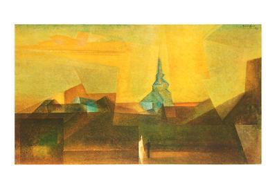 Nermsdorf-Lyonel Feininger-Art Print