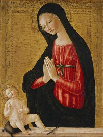 The Madonna Adoring the Child