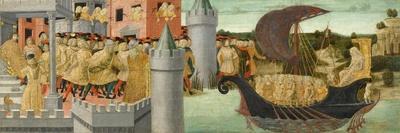 The Visit of Cleopatra to Antony, c.1475-1480