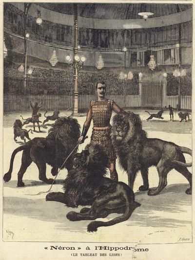 Neron at the Hippodrome--Giclee Print