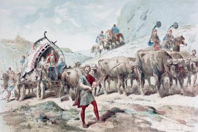 Nervian Cart, 1886-Armand Jean Heins-Giclee Print