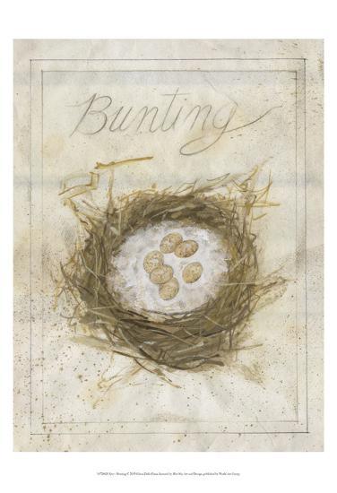 Nest - Bunting-Elissa Della-piana-Art Print