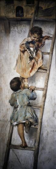 Nest-Nicholas Biondi-Giclee Print