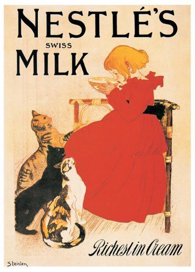 Nestle's Milk-Th?ophile Alexandre Steinlen-Art Print