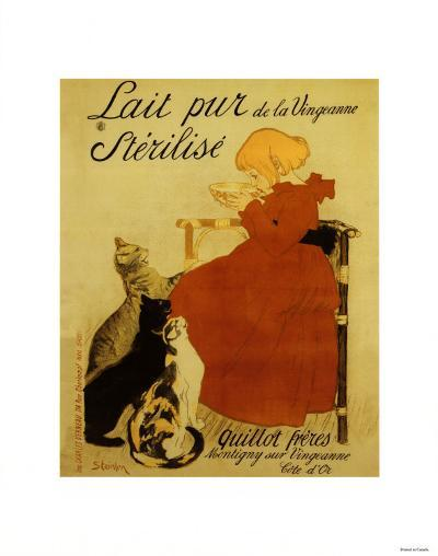 Nestle's Milk-Th?ophile Alexandre Steinlen-Art Print