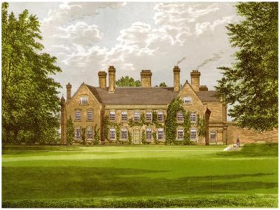 Nether Hall, Suffolk, Home of the Greene Family, C1880-AF Lydon-Giclee Print