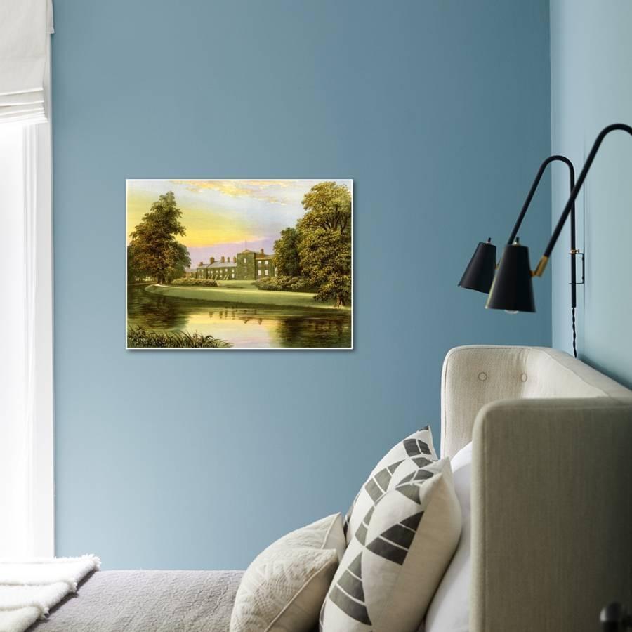Netherhall, Cumbria, Home of the Pocklington-Senhouse Family, C1880 ...