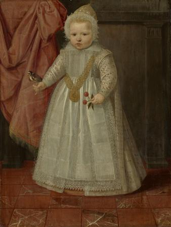 Portrait of a Boy, possibly Louis of Nassau, 1604