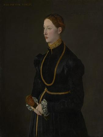 Portrait of Barbara Kressin, 1544