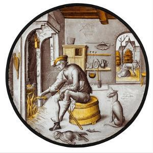 Sorgheloos  in Poverty, 1510–20 by Netherlandish School