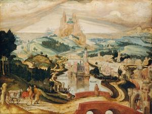 The Arrival in Bethlehem, c.1540 by Netherlandish School
