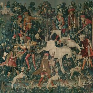 The Unicorn Defends Itself, c.1500 by Netherlandish School