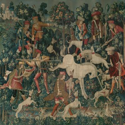 The Unicorn Defends Itself, c.1500
