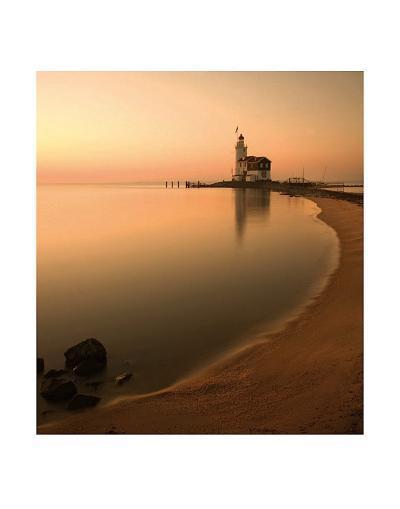 Netherlands Lighthouse-Maciej Duczynski-Art Print