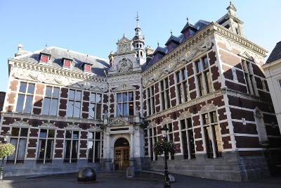 Netherlands. Utrecht. Old Building of the University. Academiegebouw--Photographic Print