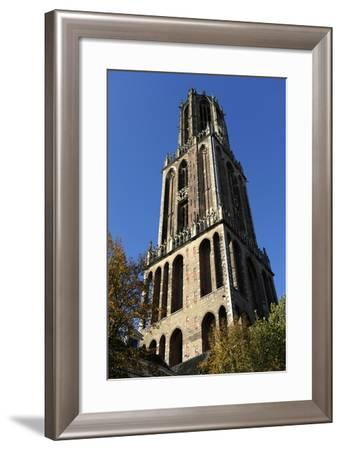 Netherlands. Utrecht. St. Martin's Cathedral. Dom Tower. 14th Century--Framed Photographic Print
