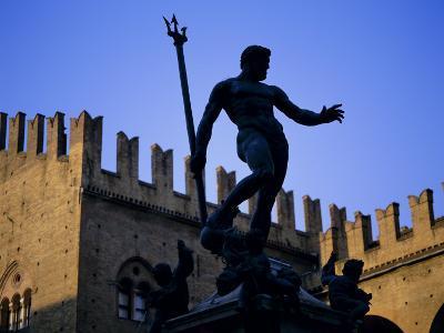 Nettuno (Neptune) Statue, Piazza Maggiore, Bologna, Emilia Romagna, Italy, Europe-Oliviero Olivieri-Photographic Print