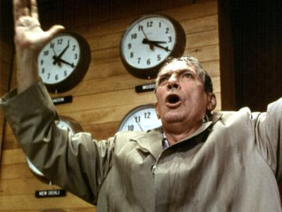 Network, Peter Finch, 1976--Photo