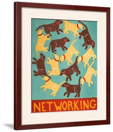 Networking Choc-Stephen Huneck-Framed Art Print