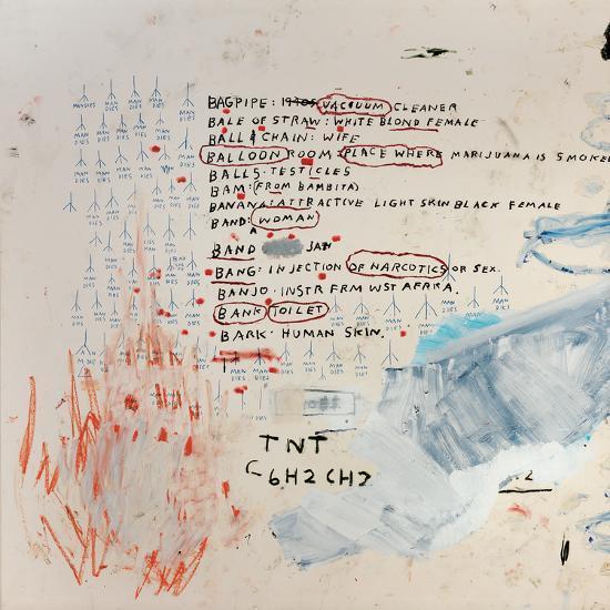 Neu-Jean-Michel Basquiat-Giclee Print