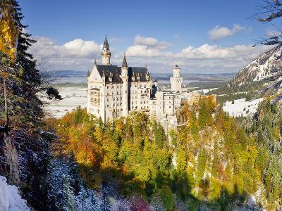 Neuschwanstein Castle, Bavaria, Germany, Europe-Gavin Hellier-Photographic Print