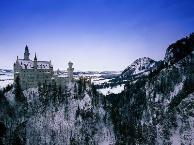 Neuschwanstein Castle, Bavaria, Germany-Walter Bibikow-Photographic Print