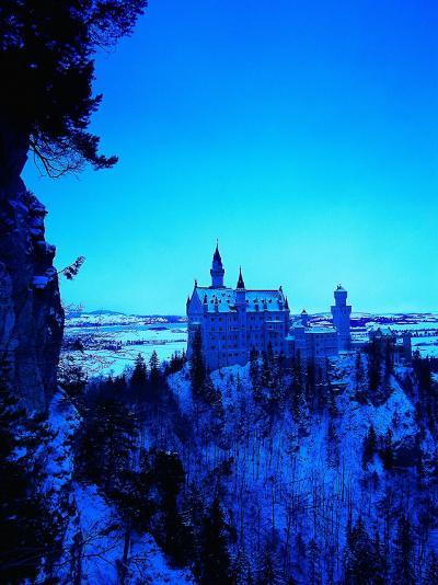 Neuschwanstein Castle, Bavaria, Germany-Walter Bibikow-Photographic Print