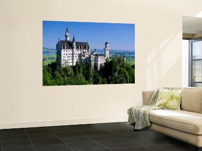 Neuschwanstein Castle, Bavaria, Germany-Steve Vidler-Giant Art Print