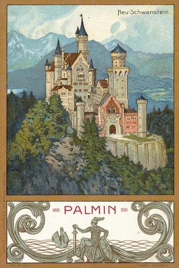 Neuschwanstein Castle, Bavaria--Giclee Print