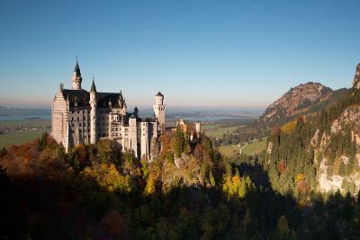 Neuschwanstein Castle in Autumn-Alex Saberi-Photographic Print