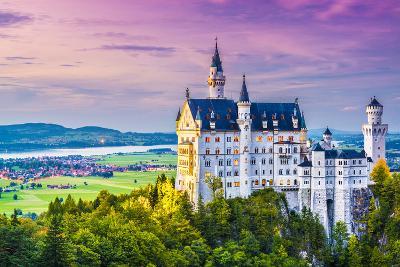 Neuschwanstein Castle in Germany.-SeanPavonePhoto-Photographic Print