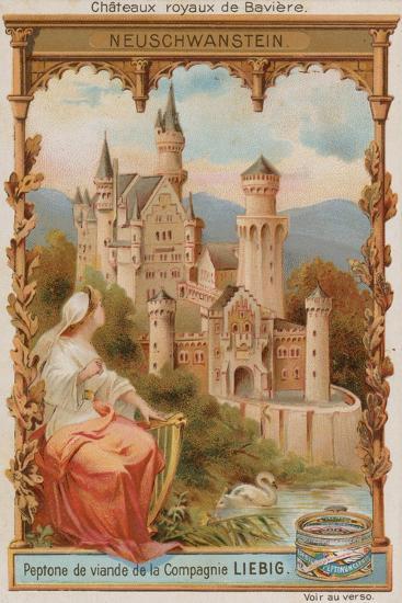 Neuschwanstein--Giclee Print