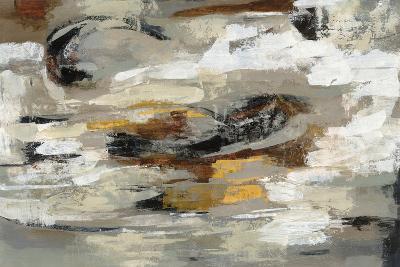 Neutral Abstract Gray-Silvia Vassileva-Art Print