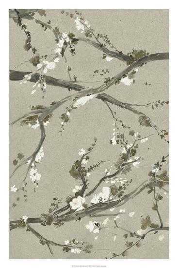 Neutral Cherry Blossoms I-Grace Popp-Giclee Print