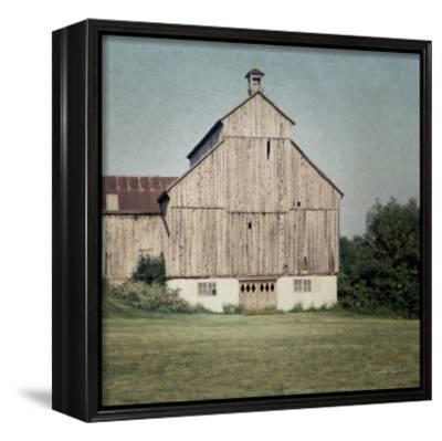 Neutral Country IV Crop-Elizabeth Urquhart-Framed Canvas Print