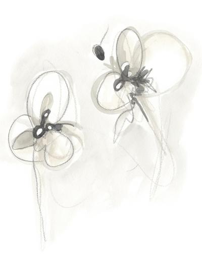 Neutral Floral Gesture VIII-June Erica Vess-Art Print