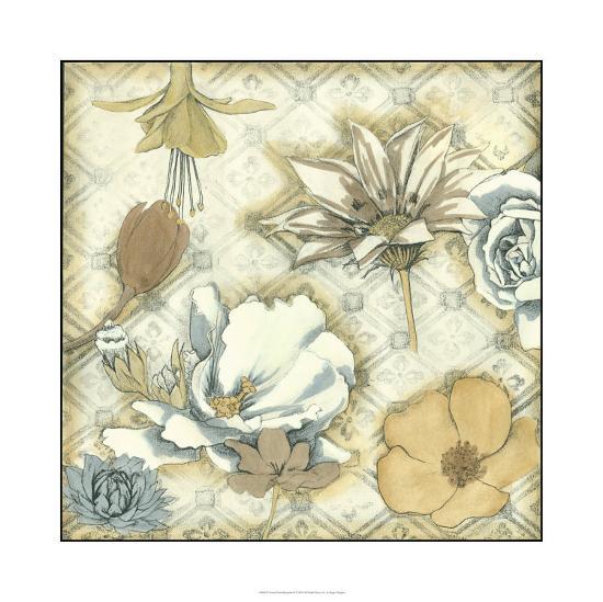 Neutral Floral Keepsake II-Megan Meagher-Limited Edition