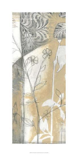 Neutral Garden Abstract VI-Jennifer Goldberger-Limited Edition
