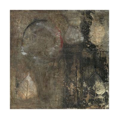 Neutral Leaves II-Elena Ray-Art Print